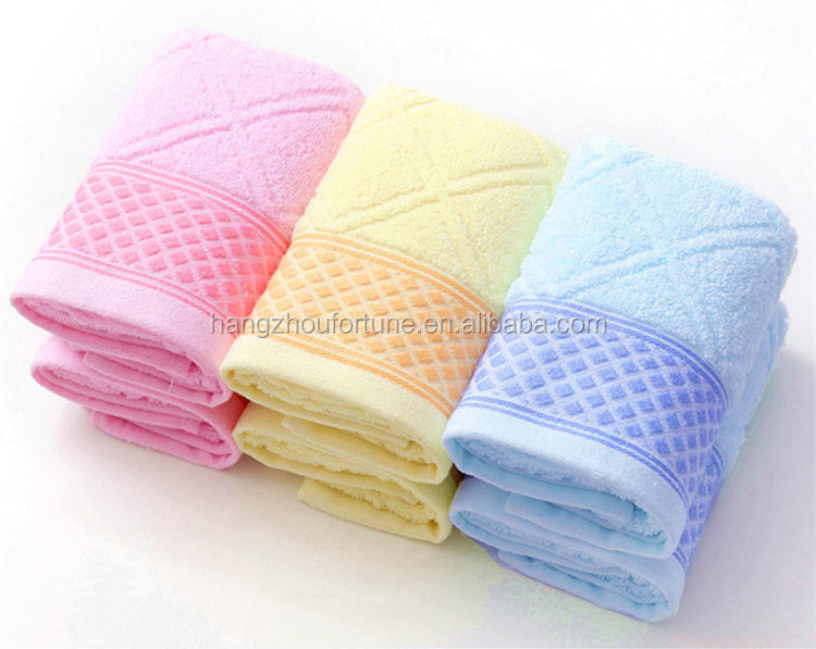 High quality quick-dry cotton bath towels clearance for sports