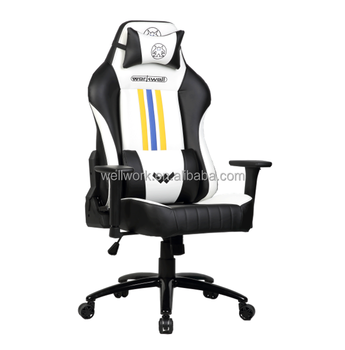 Workwell Racing Gaming Chair Pu Leather Ergonomic Design Racing Chair High  Back Computer Chair