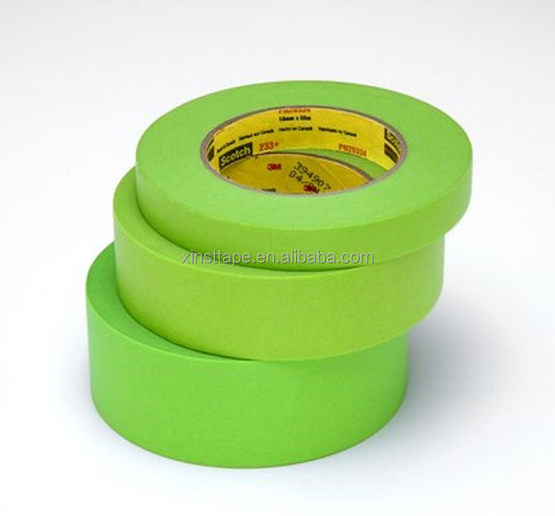 3M233+ Scotch Performance Green Masking Tape For Jamb Masking