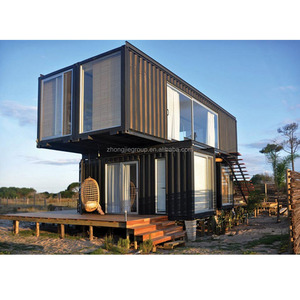 Luxury Prefabricated 20ft 40ft modern design 40ft shipping container house
