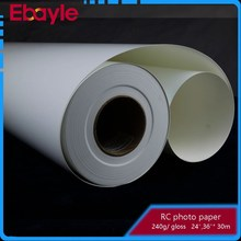 240g RC lucky gloss photo paper