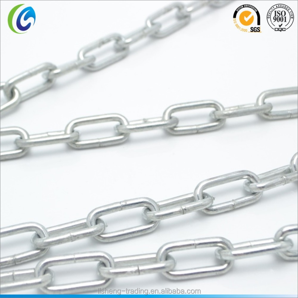Industrial Electric Galvanized Metal Steel Medium Link Chains