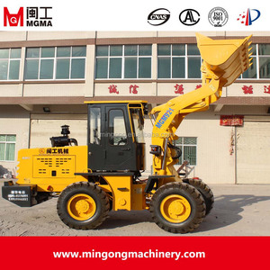 2016 new mini zl20 tractor type wheel loader supplied by MIN GONG