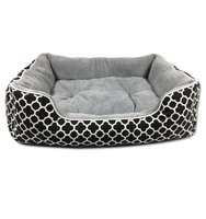 Amazon large pet bed modern sofa dog bed,foldable pet bed for large dogs,custom removable pillow modern dog bed