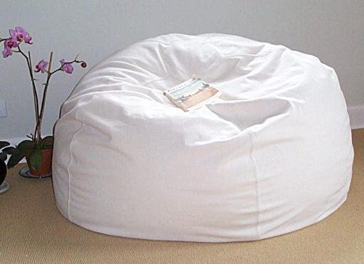 Luxury Modern Fashion Lazy Beanbag Sofa Foam Filling Bean Bag Chair
