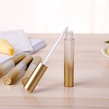 Zwart gouden matte luxe lege <span class=keywords><strong>buis</strong></span> lipgloss containers