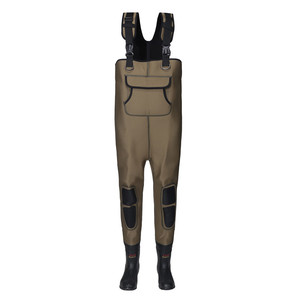 Neoprene Waders 4mm Neoprene Fishing Waders Rubber Boots Work Waders Neoprene Pants Special Purpose Safety Shoes