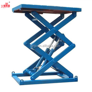 1ton-10ton high quality woodworking professional hydraulic stationary fixed 3m scissor lift table with cheap price