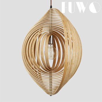 Wood Pendant Ceiling Lamp Good