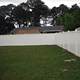 lowes vinyl fence panels,6' x 8' Vinyl Fence panel / Full Privacy Fence (ScrewLess Design)