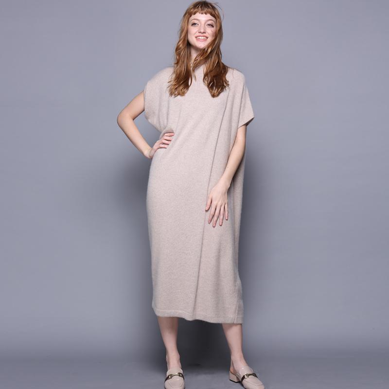 Super Loose Plus Size Fashion Dress Ladies New Design Sleeveless Cashmere  Dress Long Thick Oversize Winter Dress - Buy Ladies Winter Dress ...