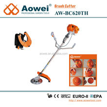 gasoline brush cutter grass trimmer cutting tool with spare parts