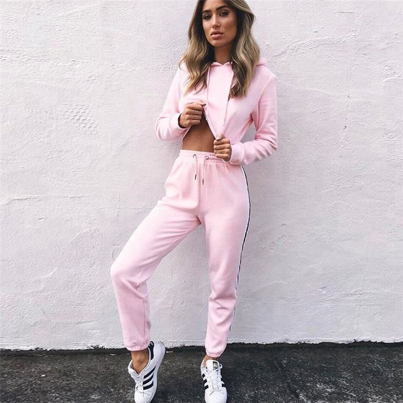 custom plain hoodies and pants printing jogging fitness high <strong>quality</strong> <strong>sport</strong> <strong>wear</strong> women's tracksuits