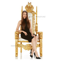 Wholesale High Back Cheap antique King Throne Chairs For Party