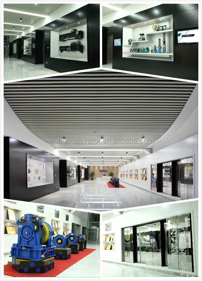 Ce Approved Double Vvvf Small Machine Room & Machine Roomless ...