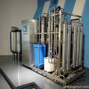 Reverse Osmosis Mineral Water Purification Plant / Ro Pure Water Purification System / River Water Purification Machine