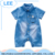 2017 High Quality Jeans Baby Romper wholesale Short Sleeve Romper