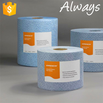 Car decoration industry jumbo roll meltblown polypropylene solvents non woven Wiping Cloth