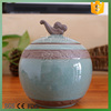 ceramic airtight tea canister/storage jar