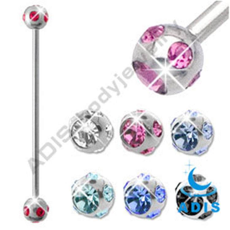 New Design Jewelry Magnetic Industrial Ear Piercing
