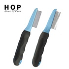 Stainless steel pet dog cat lice flea tick remover treatment comb
