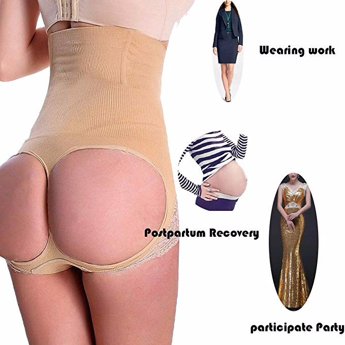 BEST USES FOR SHAPEWEAR Women Body Shaper High Waist Butt Lifter Tummy Control Panty Slim Waist Trainer 7