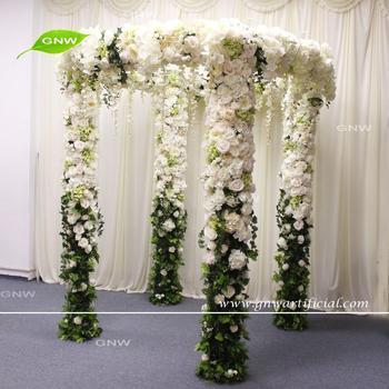 Gnw flwa1708001 2 white green wedding flower arch doors interior gnw flwa1708001 2 white green wedding flower arch doors interior mightylinksfo