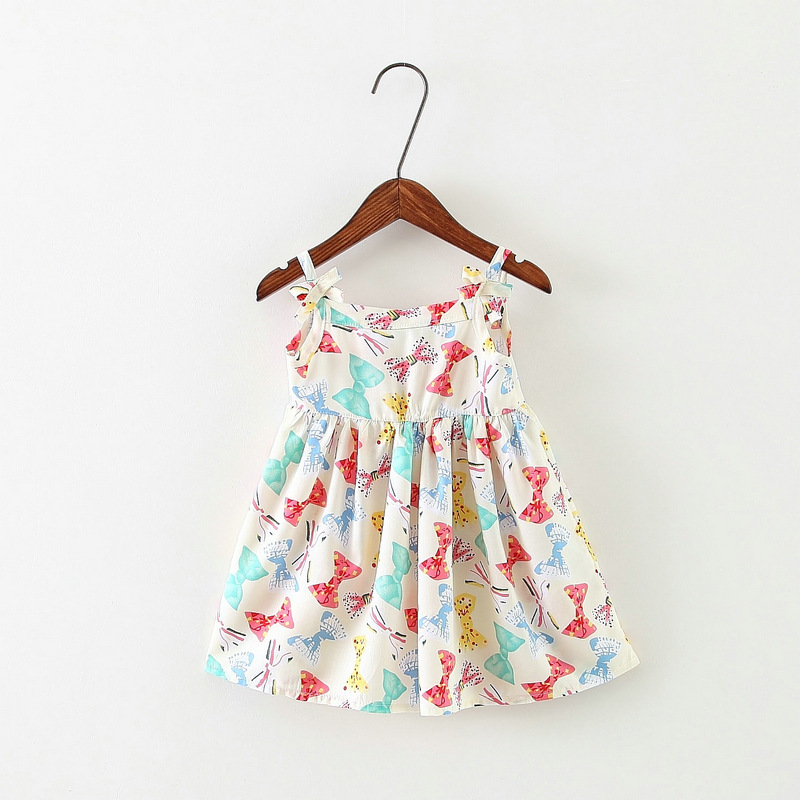 Cute Kids Strawberry Print Clothes Princess Dress Easters Day FimKaul Baby Girls Dress