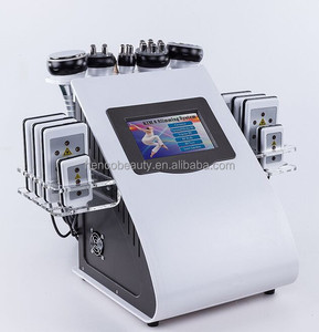 Professional Slimming Machine! Lipolaser + RF+ Cavitation + Vacuum