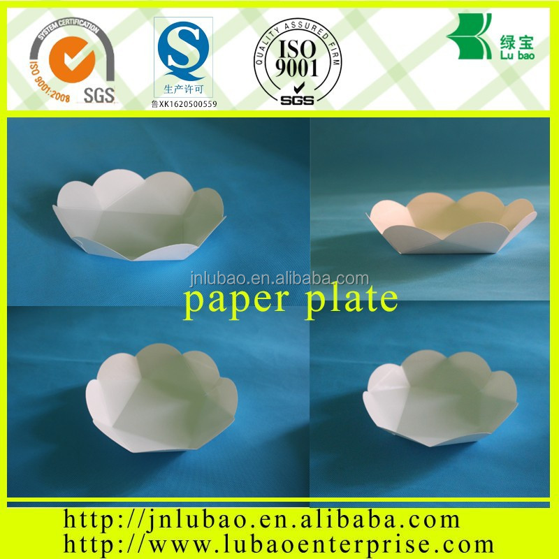 Low price environmental custom paper plate popular in Africa