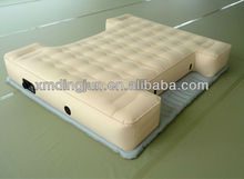 Inflatable car air bed, inflatable bed frame, inflatable air bed
