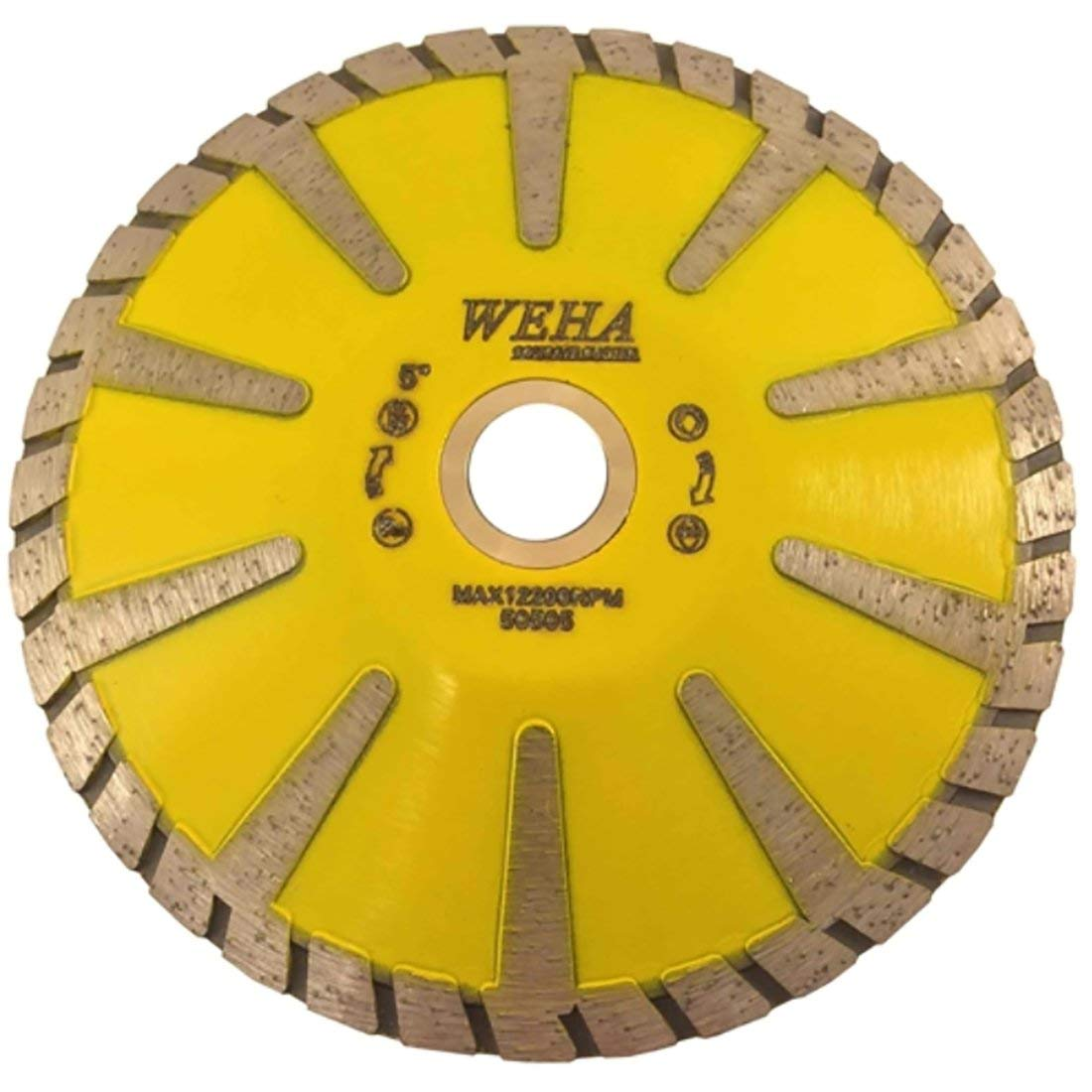 Weha Matrix Turbo Contour Blade with Side Diamond Cutting - 5 Inch