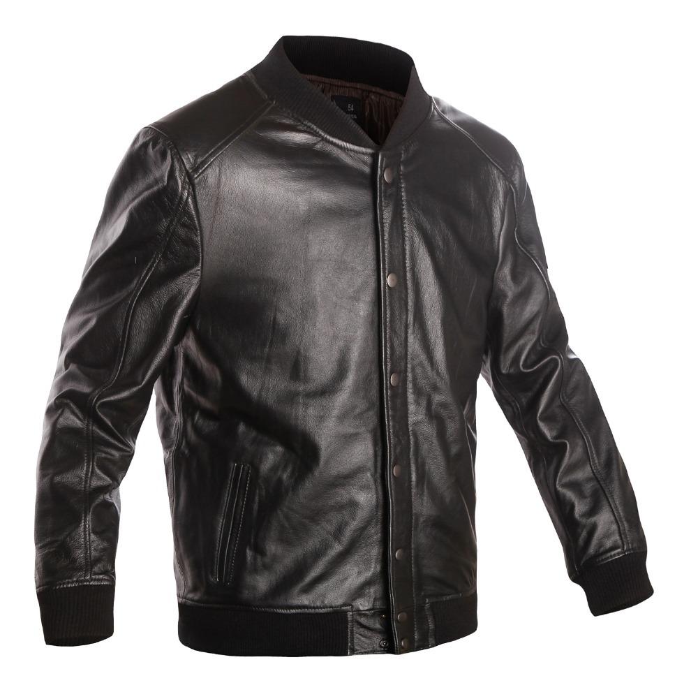 Men's 100% Genuine Leather Jacket Men Winter Jackets ...