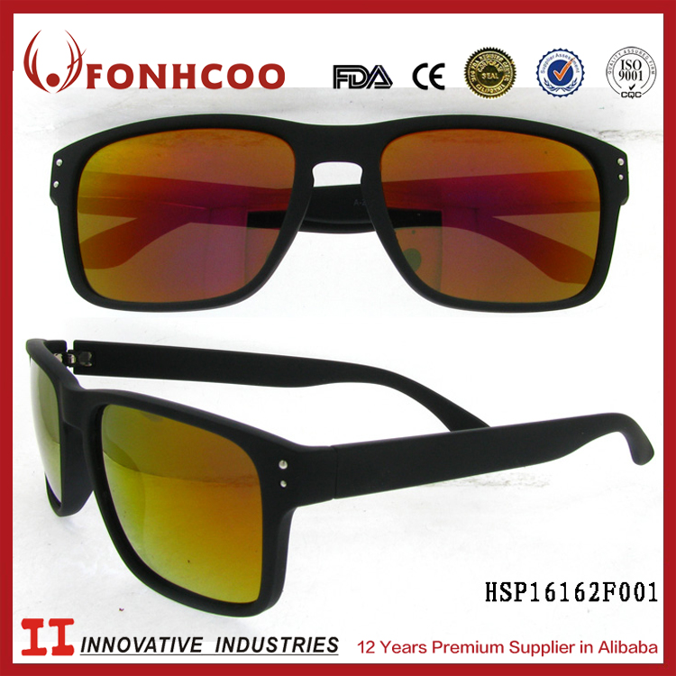 FONHCOO Buy Direct From Factory USA Men Plastic Freedom Sunglasses Rolling
