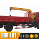 New Brand used heavy lift 4 ton knuckle boom truck mounted crane