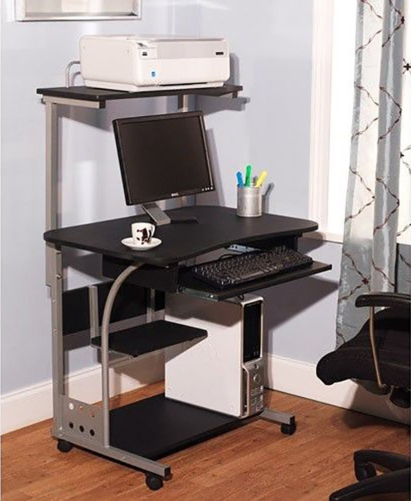 Mobil Computer Desk workstation for Laptops and Desktop towers