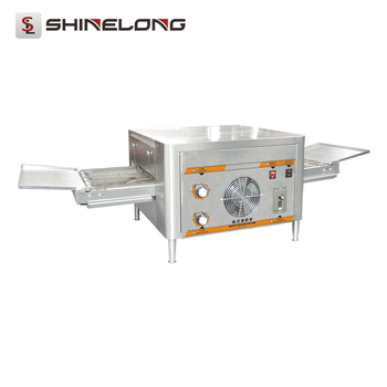 Commercial Restaurant Equipment 1/2-Layer Tunnel Cast Iron Conveyor Pizza Oven