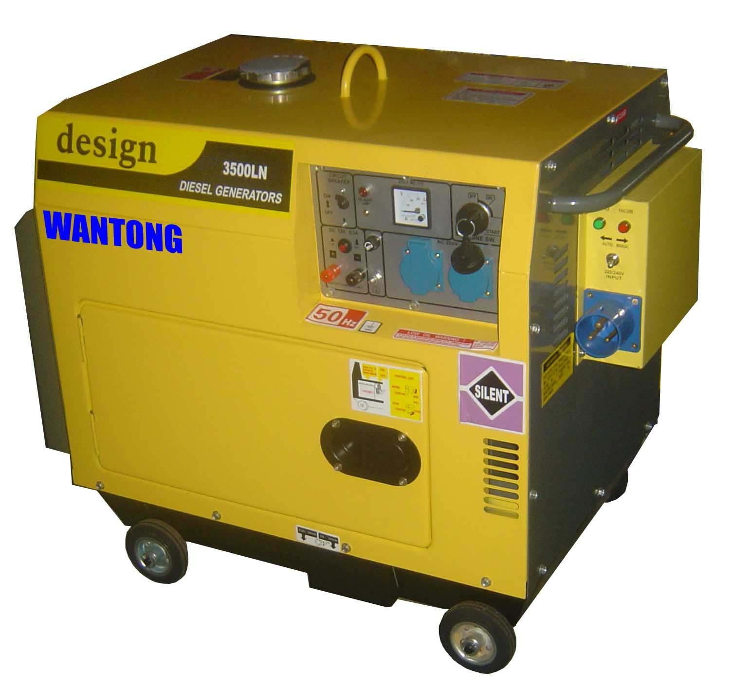Movable Diesel Generator Set Movable Diesel Generator Set