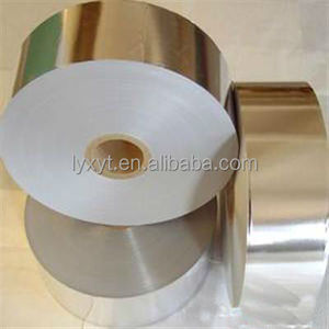 Transfer Cigarette Packet Wrapping Gold Aluminum Foil Paper For Cigarette Packet