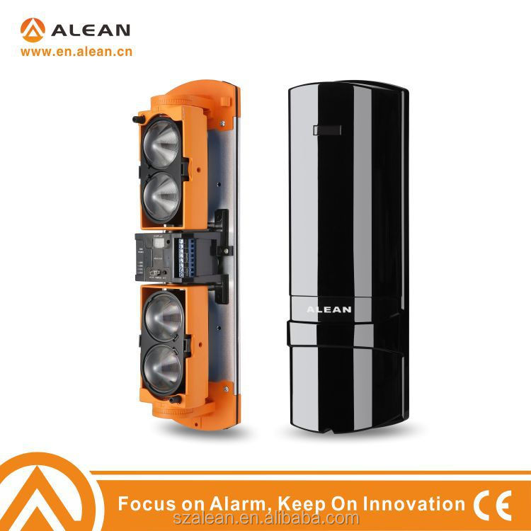 Abh250l High Quality Wired Ir Active 4 Beam Infrared Barrier ...