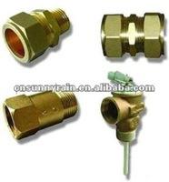 Brass Fittings For Split Pressurized Solar Heating System