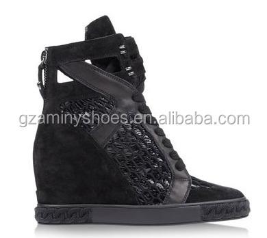 for sneaker Black heel shoes womens t8xBqw