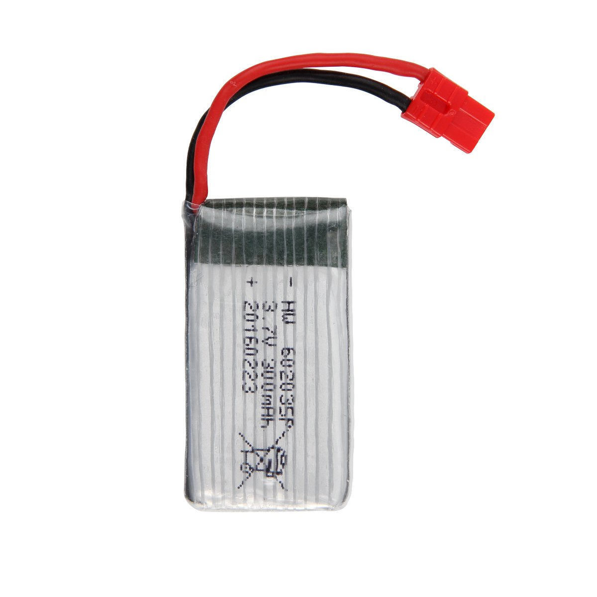Syma X5A-1 1piece 3.7V 300mAh Lipo Battery with USB Charger Spare Part