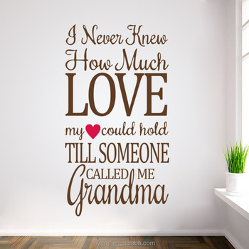 3dpictures Home Decoration Wallpaper Vinyl Wall Decals Hearts Quotes