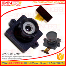 COMS 24 pin camera sensor 8806Z night vision jpeg camera module Cmos VGA 0.3MP OV7725 camera module