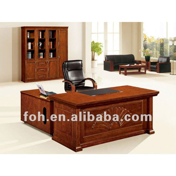 Professional Executive Office Desk American Style Commercial Fohs A18115