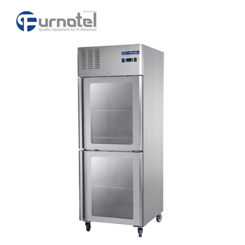 FRCF-3-3 FURNOTEL Industrial Fridge Used Glass Door Refrigerators Quality Guarantee