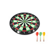 Double Sided Roll-up Bullseye Game Magnetic Dart Board
