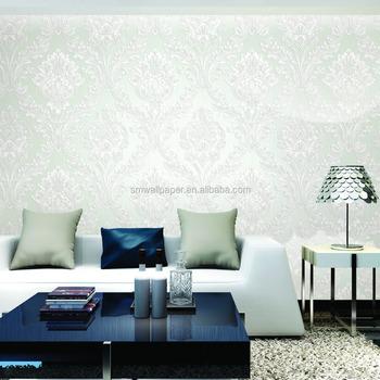 3d Foaming Dark Color Non Woven Tv Sofa Background Wallpaper Black