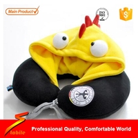 STABILE 2016 Removable Covers New Travel Pillow With Hat